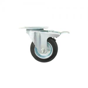 DOCKer MeDIuM Duty CaSter – SWIVeL WItH LOCK 脚轮-活动刹车轮