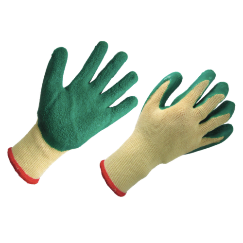 RUBBER COATED COTTON GLOVES 沾胶棉手套
